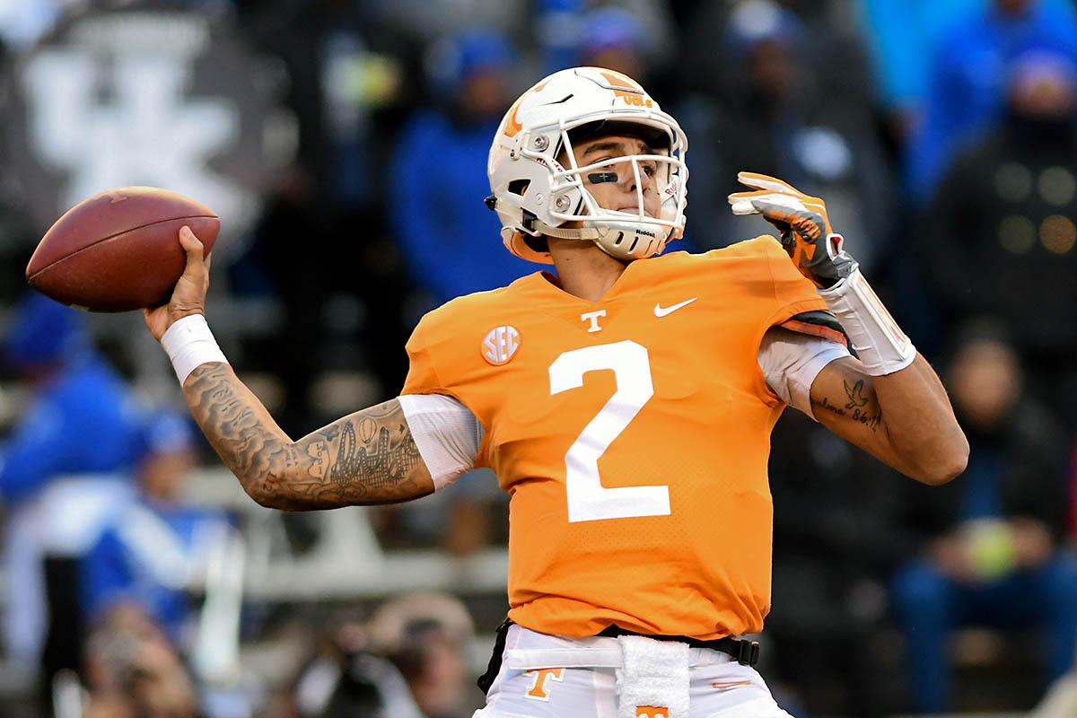 Tennessee Vols Football drops #11 Kentucky 24-7 ...