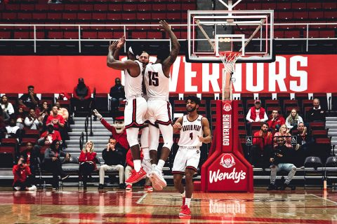 Austin Peay Men's Basketball gets 95-68 victory over Purdue Fort Wayne at the Dunn Center, Sunday. (APSU Sports Information)