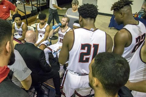 Austin Peay Men's Basketball beats Campbell 88-75 at the St. Pete Shootout, Friday. (APSU Sports Information)