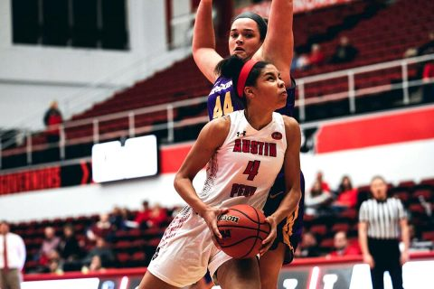 Austin Peay Women's Basketball hit the road to take on Western Illinois, Sunday. (APSU Sports Information)