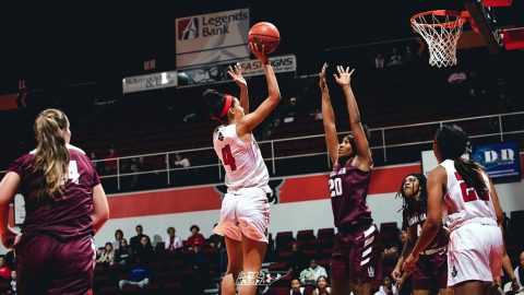 Austin Peay Women's Basketball got 75-58 win over Alabama A&M Sunday at the Dunn Center. (APSU Sports Information)
