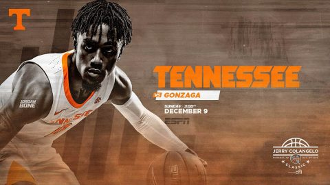 Tennessee Men's Basketball travels to Phoenix Arizona Sunday to take on Gonzaga in a 2:05pm CT matchup. (UT Athletics)