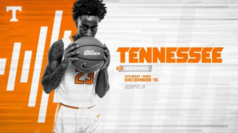 Tennessee Men's Basketball hits the road Saturday to take on the Memphis Tigers. (UT Athletics)
