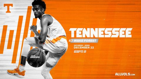 #3 Tennessee Men's Basketball takes on Wake Forest at Thompson-Boling Arena, Saturday. (UT Athletics)