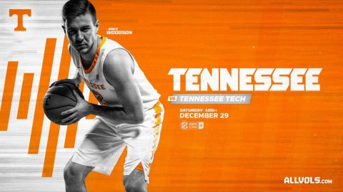 Tennessee Men's Basketball play the Tennessee Tech Golden Eagles at Thompson-Boling Arena, Saturday. (UT Athletics)
