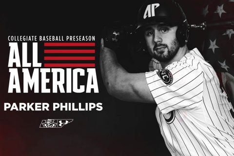 Austin Peay Baseball junior Parker Phillips named First Team Preseason All-American. (APSU Sports Information)