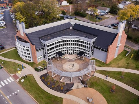 The APSU Maynard Mathematics and Computer Science Building is home to the University's CSIT.