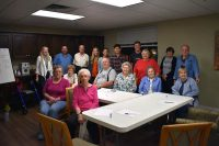APSU and MCHS students come together to teach Spanish 101 to senior citizens.