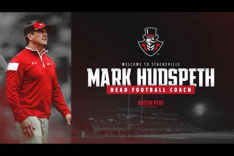 Mark Hudspeth has been announced as the head football coach for Austin Peay State University. (APSU Sports Information)