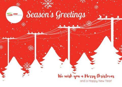 Happy Holidays from CDE Lightband.