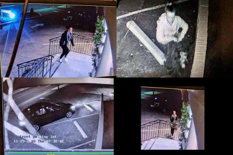 Different Grinch, Same Result, Clarksville Police says Christmas Decorations Stolen from business for second year in a row.