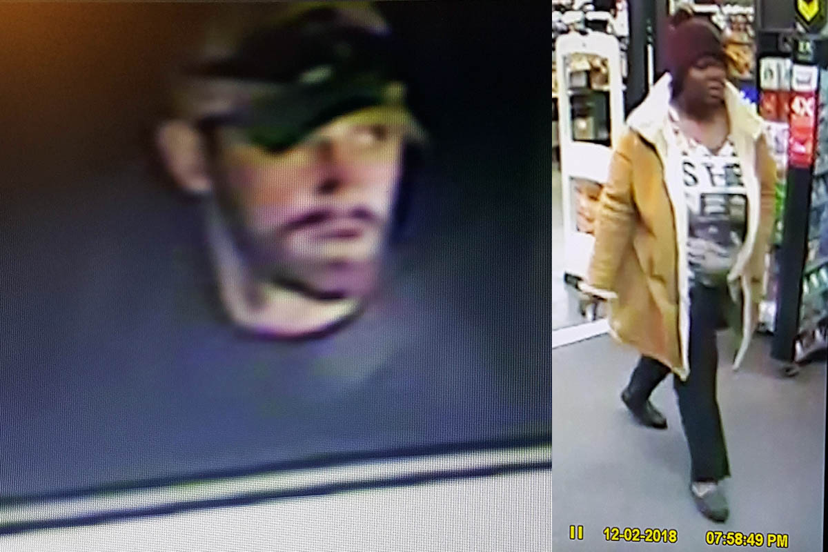 Clarksville Police are trying to identify the two suspects in this photo.