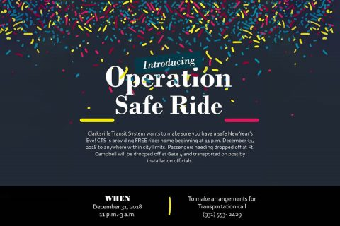 Clarksville Transit System's Operation Safe Ride