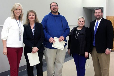 Sango Elementary School's Mark Banasiak was chosen as the 2019 SHAPE America Southern District Elementary Physical Education Teacher of the Year. Montgomery Central High School's Shannon Morrison as the 2019 SHAPE America Southern District Secondary Physical Education Teacher of the Year.