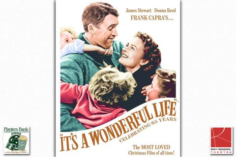"The film ""It's A Wonderful Life"" to play this Sunday at the Roxy Regional Theatre as part of the Planters Bank Presents ... film series."