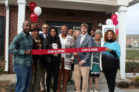 Tennessee Housing Development Agency celebrates grand reopening of Miller Town Apartments.