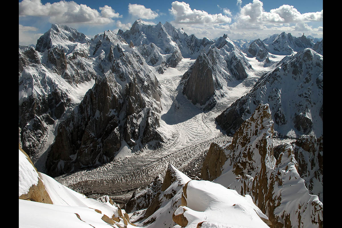 Glaciers in the Karakoram Range of Pakistan, one of the mountain regions studied in the new research. (Université Grenoble Alpes/IRD/Patrick Wagnon)