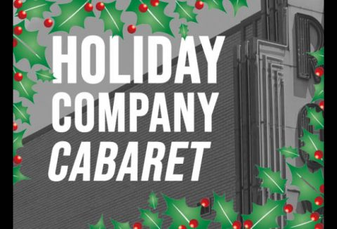 """Holiday Company Cabaret"" to be held at the Roxy Regional Theatre on Wednesday, December 12th."