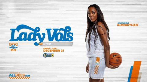#9/8 Tennessee Women's Basketball takes on East Tennessee State at Thompson-Boling Area, Friday. (UT Athletics)