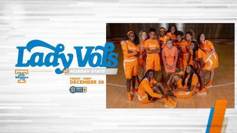 Tennessee Women's Basketball plays Murray State at Thompson-Boling Arena, Friday. (UT Athletics)