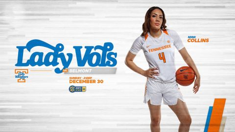 Tennessee Women's Basketball plays the Belmont Bruins at Thompson-Boling Arena Sunday afternoon. (UT Athletics)