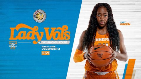 #11/11 Tennessee Women's Basketball plays it's third straight road game Sunday at Oklahoma State. (UT Athletics)