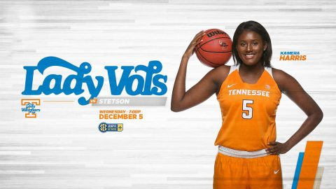 #9/9 Tennessee Women's Basketball set to host Stetson at Thompson-Boling Arena, Wednesday. Tip off is at 6:00pm CT. (UT Athletics)