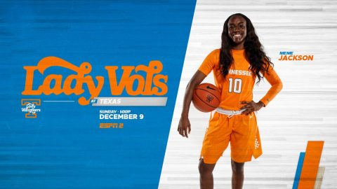 #9/9 Tennessee Women's Basketball plays the Texas Longhorns at Thompson-Bowling Area, Saturday. Tip off is set for 12:02pm CT. (UT Athletics)