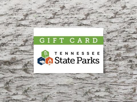 Give Loved Ones a Tennessee State Park Gift Card for Christmas.