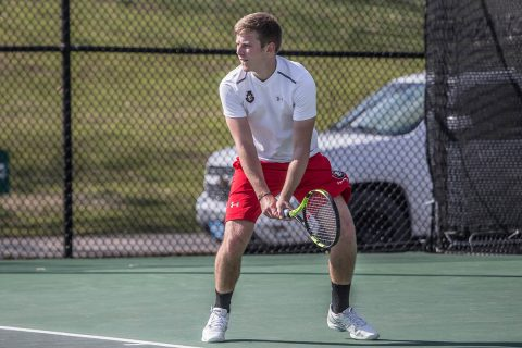 Austin Peay State University Men's Tennis loses to Middle Tennessee Blue Raiders Wednesday. (APSU Sports Information)