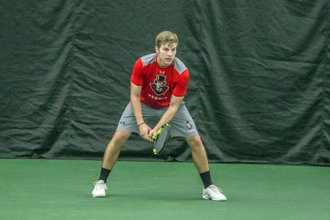Austin Peay Men's Tennis unable to get on track against Lipscomb, Friday. (APSU Sports Information)