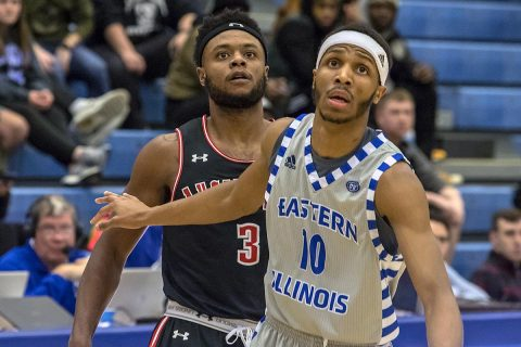 Austin Peay Men's Basketball falls late to Eastern Illinois, 85-83. (APSU Sports Information)