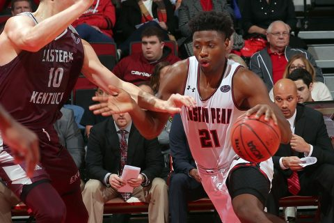 Austin Peay Men's Basketball take on the Tennessee State Tigers at the Dunn Center, Thursday night. (APSU Sports Information)