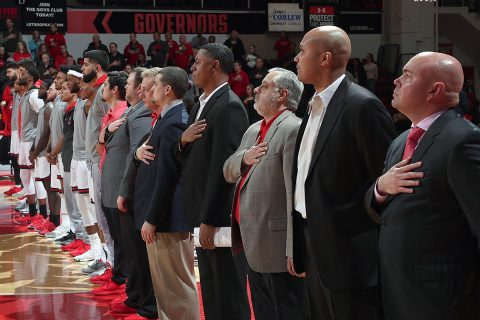 Austin Peay Men's Basketball gets important OVC win over Tenenssee State Thursday night. (APSU Sports Information)