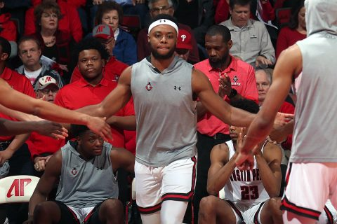 Austin Peay Men's Basketball loses to Belmont at the Dunn Center, 96-92. (Robert Smith, APSU Sports Information)