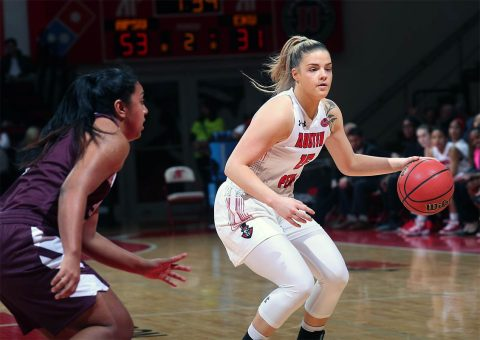 Austin Peay Women's Basketball hosts Morehead State this Saturday afternoon at the Dunn Center. (APSU Sports Information)