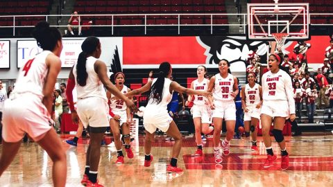 Austin Peay Women's Basketball has struggled on the road this year. (APSU Sports Information)