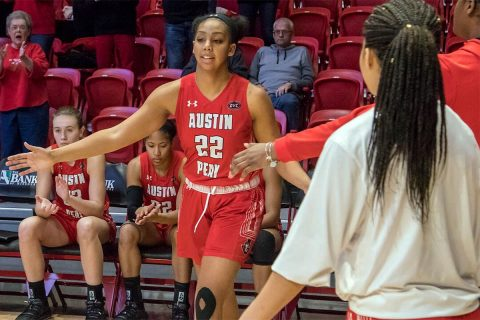 Austin Peay Women's Basketball heads to UT Martin Saturday looking for OVC road win. (APSU Sports Information)