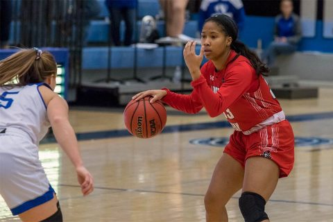 Austin Peay Women's Basketball sophomore Brianah Ferby had 19 points in road win over Eastern Illinois Saturday. (APSU Sports Information)