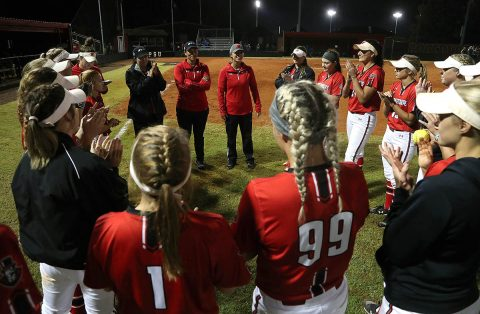Austin Peay Softball began Spring Practice Monday. (APSU Sports Information)