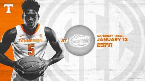 Tennessee Men's Basketball at Florida Gators this Saturday. (UT Athletics)