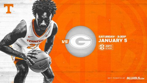 Tennessee Men's Basketball kicks off SEC play this Saturday when the Vols host the Georgia Bulldogs. (UT Athletics)