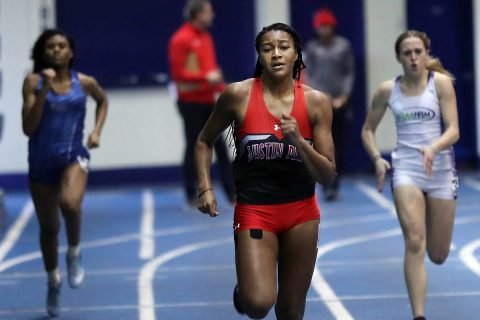 Austin Peay Women's Track and Field has outstanding showing at Thundering Herd Invitational this weekend. (Robert Smith, APSU Sports Information)