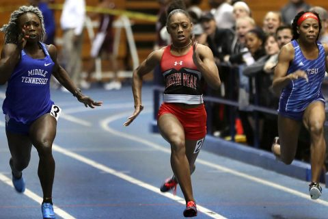 Austin Peay Women's Track and Field puts in a dominating performance at Ed Temple Classic in Nashville. (APSU Sports Information)