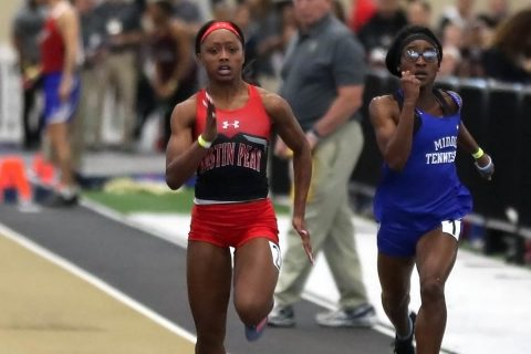 Austin Peay Women's Track and Field look to continue success at Vanderbilt Invitational this weekend. (APSU Sports Information)