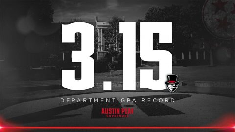 APSU Governors student-athletes set department record with 3.15 GPA in Fall 2018