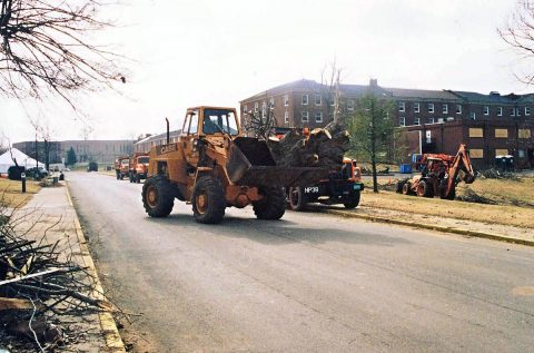 It took years for the APSU campus to fully recover from the disaster.