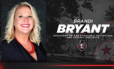 Brandi Bryant named Austin Peay State University Assistant Director of Athletics for Strategic Initiatives and Capital Projects. (APSU Sports Information)