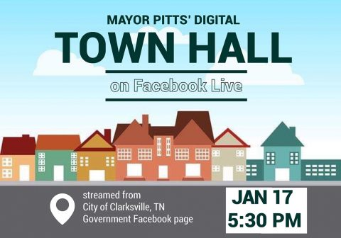 City of Clarksville Mayor Joe Pitts Digital Town Hall