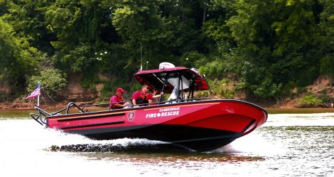 Fire boat team called to action twice in a month